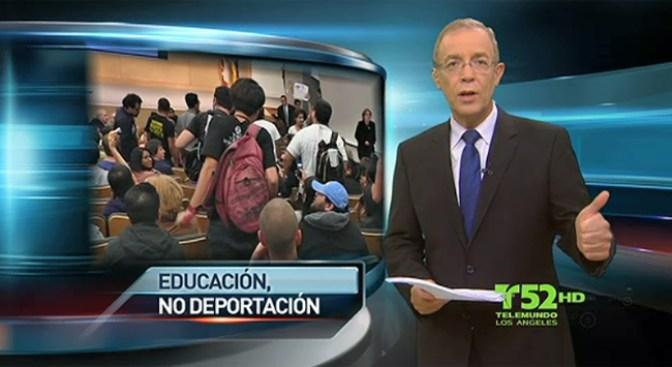 """""""¡Educacion, no deportacion!"""""""