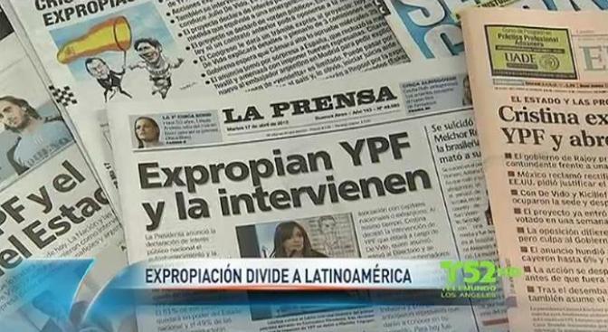 Latinoamérica se divide