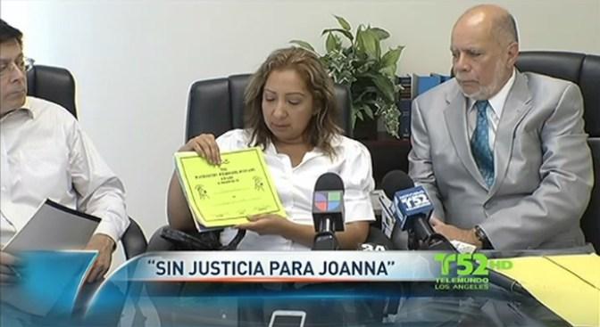 Justicia para Joanna