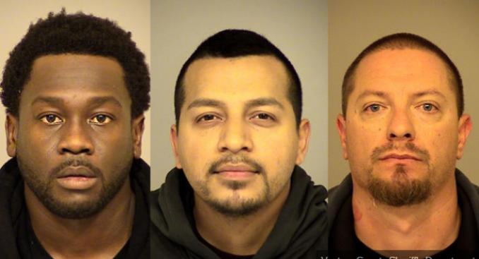 Insólito: detienen a tres hombres por robar 300 mil dólares en