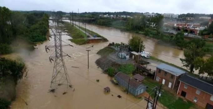 Fotos: Diluvio inunda a Carolina del Sur