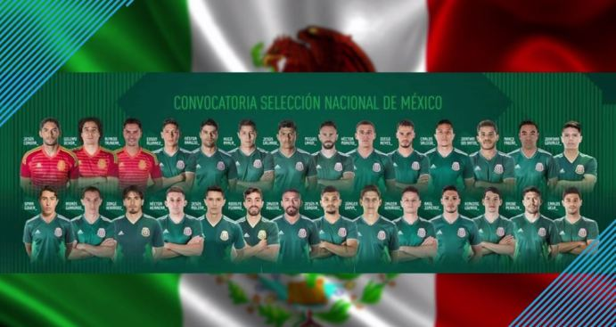 Convocatoria de México para amistosos rumbo Rusia 2018 - Telemundo 52 4a62d0e7be5c0